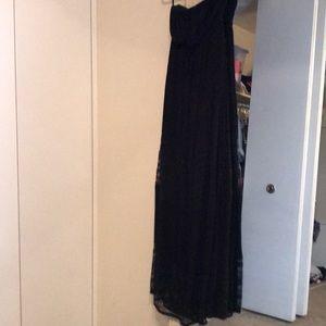 Strapless maxi dress torrid